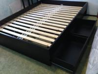 IKEA OPPDAL bed frame for sale. Queen size. Modern,