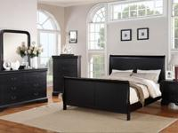 WOOD QUEEN BED ONLY!!4 DIFFERENT COLORS TO CHOOSE FROM!