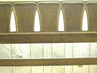 Type:FurnitureType:QUEEN BED WOODEN HEADBOARD and METAL