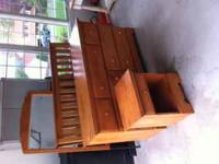 Solid Maple Bedroom Set includes large dresser with