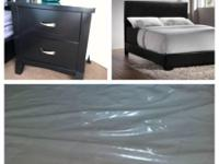 I will delete ad when its sold. New Queen modern bed,