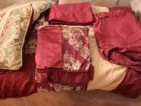 QUEEN COMFORTER SET ---- $75 cash Includes: 1 Queen