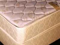 brand new queen double sided plush top mattress sets