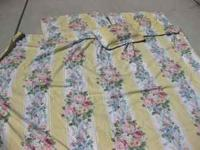 Beautiful and bright Queen Duvet Cover, two shams, and