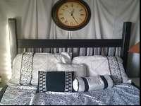 Queen Headboard, footboard and frame only. $100Call or