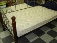 QUEEN MATTRESS SET (Mattress and Foundation). BRAND