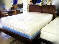 In great condition, this queen bed frame will offer a