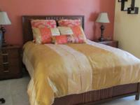 Queen size comforter and accessories. Retail value