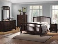 Queen Size Bedroom Set! New! $655 New In Box!! Set
