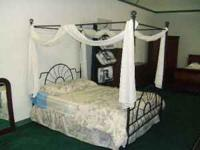 BRAND NEW - STILL IN THE BOX! This Canopy bed includes