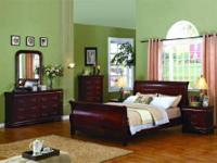 Includes Queen Size Headboard, Footboard, Rails,