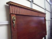 "This is a good deal.Solid mahogany,""American""made and"