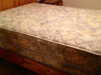 Rest Easy queen size mattress and box spring. In great