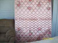 mattress set is in great condition. call with any