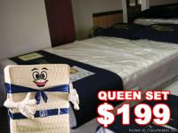 Go check out there queen $199 mattress set and then