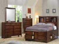 Brand new from dealer. Queen Storage bed features 8