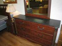 Beautiful bedroom set only $750. Set includes 6 drawer