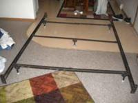Barley Used Queen Size Bed Frame asking $40.00 If you
