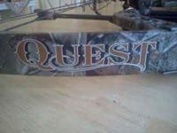 Like New Quest Archery Bow Package. Ready to hunt with