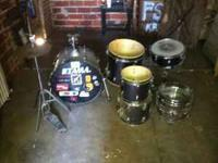 Incomplete Tama Swingstar Drumset, Snare drum, snare