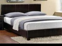 Queen platform or Queen modern No Mattress $159 each.