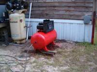 SANBORN 5 HP AIR COMPRESSOR THAT IS ACTUALLY MADE BY