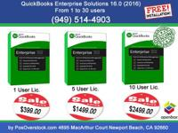 QuickBooks Enterprise is designed specifically for