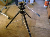 Quickset Studio grade tripod with fluid dampened head