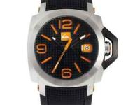 Quicksilver Luma/Lanai Watch Orange/Black made with