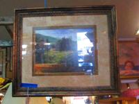 OIL PAINTING BY M NEWSOME - 'QUIET PASTURES' - $55