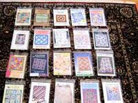 29 Quilt Patterns, all in execellent condition, no
