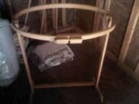 Quilting or embroider hoop frame with stand. $40.00 OBO