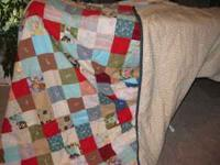 I have 4 handmade quilts. All are brand new, never