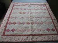 All quilts are machine pieced and machine quilted for