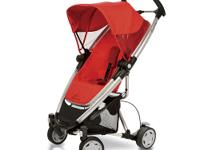 The Quinny Zapp Xtra Stroller in Rebel Red is