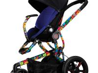 The new Quinny Britto Moodd Stroller is poetry in