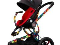 A very pretty stroller perfect for boy or girl all