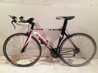 2010 Quintana Roo Tequilo Triathlon bike 52cm for sale.