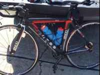 Qunitana Roo Kilo 54cm carbon fork and seat stay. Tri