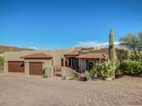 The quintessence of Sonoran living. Backing the