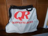 Quintana Roo Soft Bike Bag. Comes with shoulder strap.