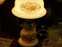 This is a Quoizel Typhoon Vintage Lamp in the Fall