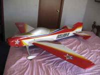 This is a nice Pattern Airplane complete less motor. It