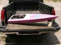 R/C BOAT PROJECT This is a 52 inch Appache R/C boat