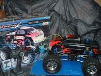 Two Nitros fueled Monster Trucks. Both run EXCELENT!