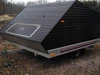 "Deck size: 100""W by 118""L This trailer is in good shape"