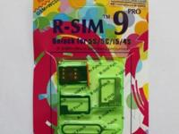 We are presently offering R-Sim 9 Pro iPhone Unlock
