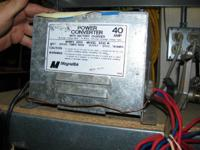 We have a R.V. power converter available for sale. The