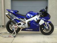 Yamaha R1 YZF-R1 00-01 Undertail Undertray F17 BluePIAA