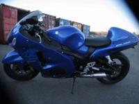 a 2007 Suzuki Hayabusa GSX1300R. This 2007 bike was